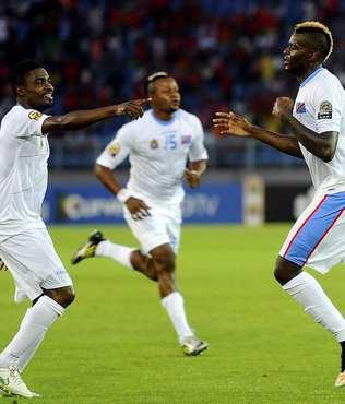 Afrika Kupas�'nda ilk finalist Demokratik Kongo