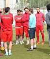 Ayhan Akman ilk antrenmanına çıktı