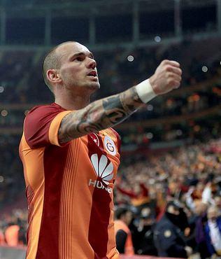 Sneijder'in rekor gecesi