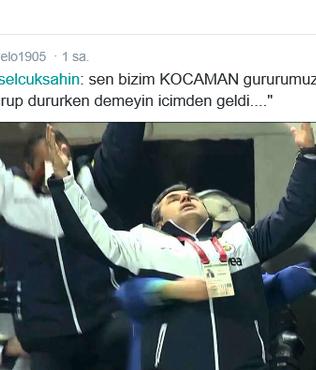 Melo'dan Aykut Kocaman tweeti!..