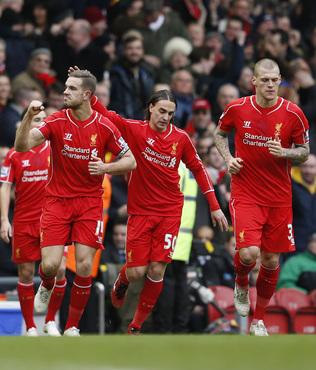 Liverpool, City ile moral buldu