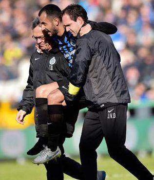 Club Brugge'de sakatl�k �oku