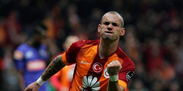 Sneijder Volkan'a mesaj yollad�
