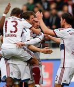 Bayern Münih deplasmanda rahat