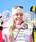 ABD'li kayak�� Vonn rekora ortak oldu