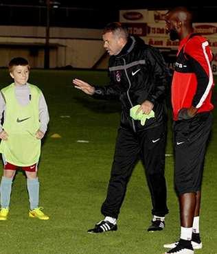 Trabzonspor'da bir ilk ya�and�