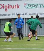 Bursasporda K.Erciyesspor hazırlıkları