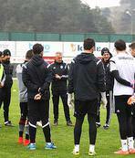 Beşiktaşta Başakşehir hazırlıkları sürüyor