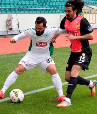 Konyaspor-Eski�ehirspor dost�a: 0-0