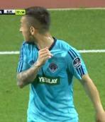 Beşiktaş maçında yine olay!