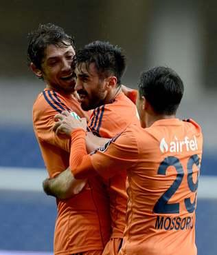 Ba�ak�ehir, Rize'yi 3 golle vurdu