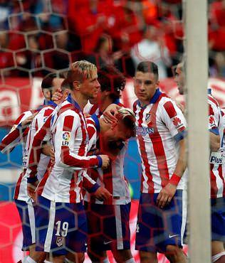 Atletico Madrid evinde rahat