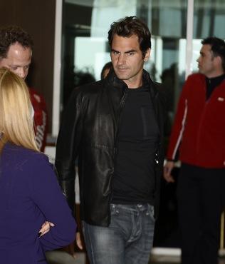 Federer �stanbul'da!