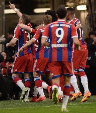 �ampiyon Bayern M�nih