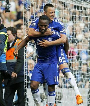Terry'den Drogba'ya destek