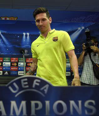 Messi, Avrupa'da 100. ma��na ��kacak