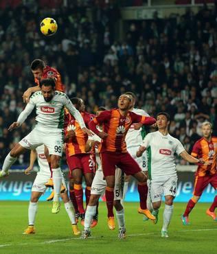 G.Saray ile Konyaspor 28. randevuda
