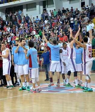 Trabzonspor'un yar� final ba�ar�s�