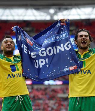 Premier Lig'e son bilet Norwich City'nin