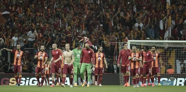 Ve şampiyon Galatasaray!