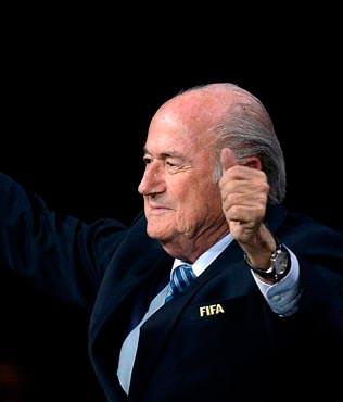 Blatter ile devam