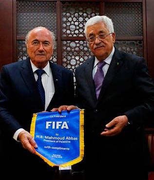 FIFA, Filistin'i kabul etti