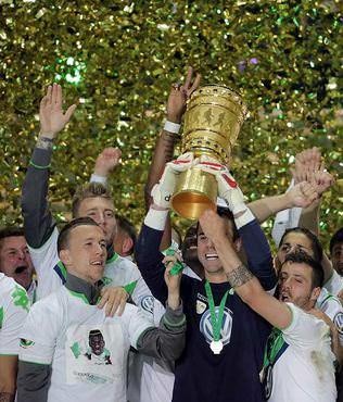 Almanya Kupas� Wolfsburg'un