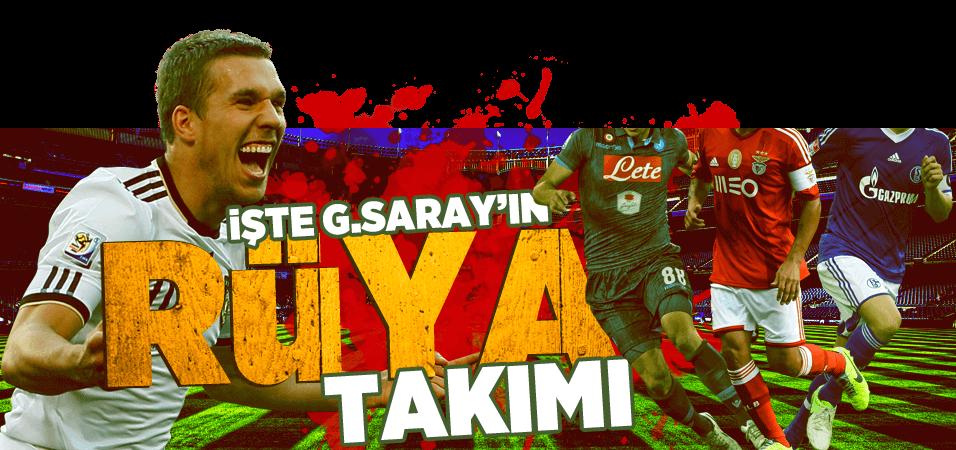 Galatasaray'�n r�ya 11'i