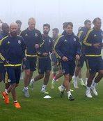 F.Bahçede yeni transferler sahada