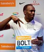 Usain Bolt'a çifte baskı