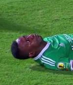 Afrikal� futbolcu yo�un bak�mda