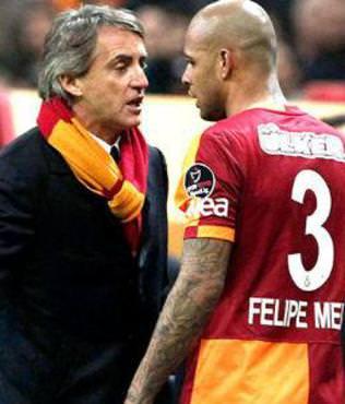 Mancini'den Melo a��klamas�