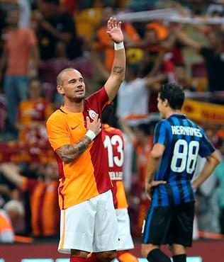 Ba�kan'dan Sneijder s�z�