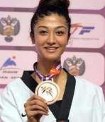 Nafia Kuş'tan altın madalya