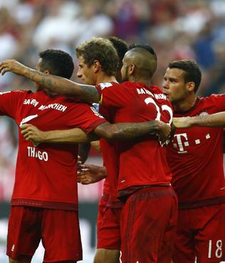 Bayern M�nih yine farkl� kazand�