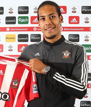 Virgil van Dijk Southampton'da