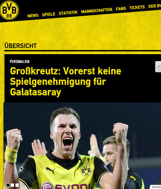 Dortmund'dan Grosskreutz a��klamas�