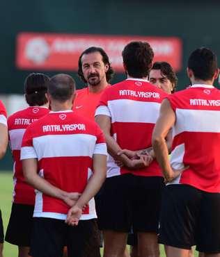 Antalyaspor Es-Es s�nav�na haz�rlan�yor