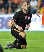 G.Saray'da Sneijder tehlikesi