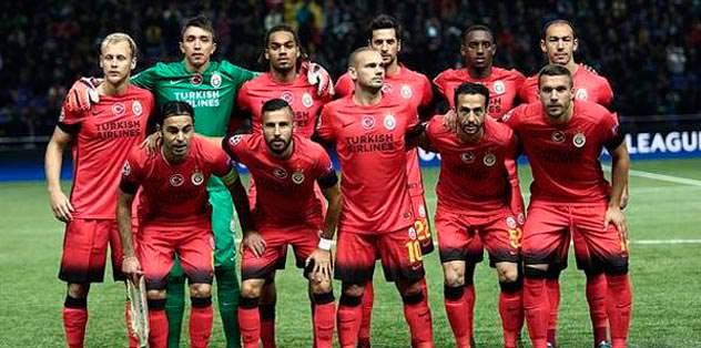 Galatasaray 26. basamakta
