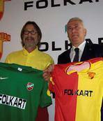Göztepe başkanı Karşıyaka maçını izledi