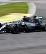 Brezilya'da ilk cep Rosberg'in