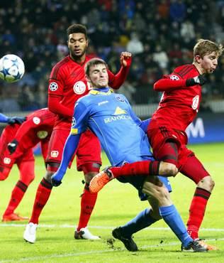Leverkusen di� ge�iremedi