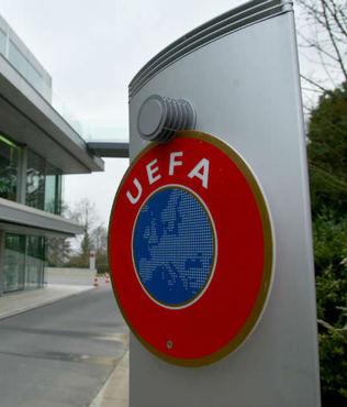 UEFA'dan fla� a��klama