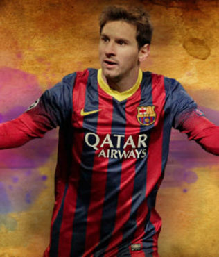 Messi'ye haftal�k 800 bin pound