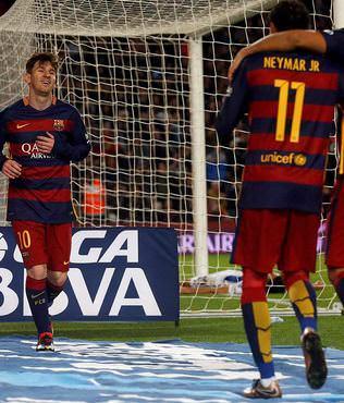 Barcelona yine 4'ledi