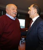Eski başkanlar da Avni Aker'de