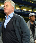 Hiddink ve Drogba