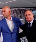 Real'de Zidane devri