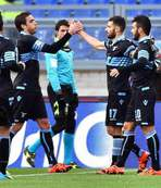 Lazio evinde rahat kazandı